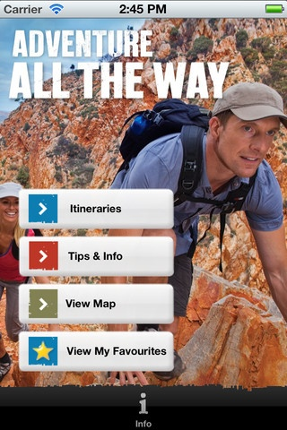 iOS App: 'The Explorer's Way - Australia's Ultimate Drive Holiday' by Tourism NT | Yet to be reviewed | #NT #NorthernTerritory #Australia