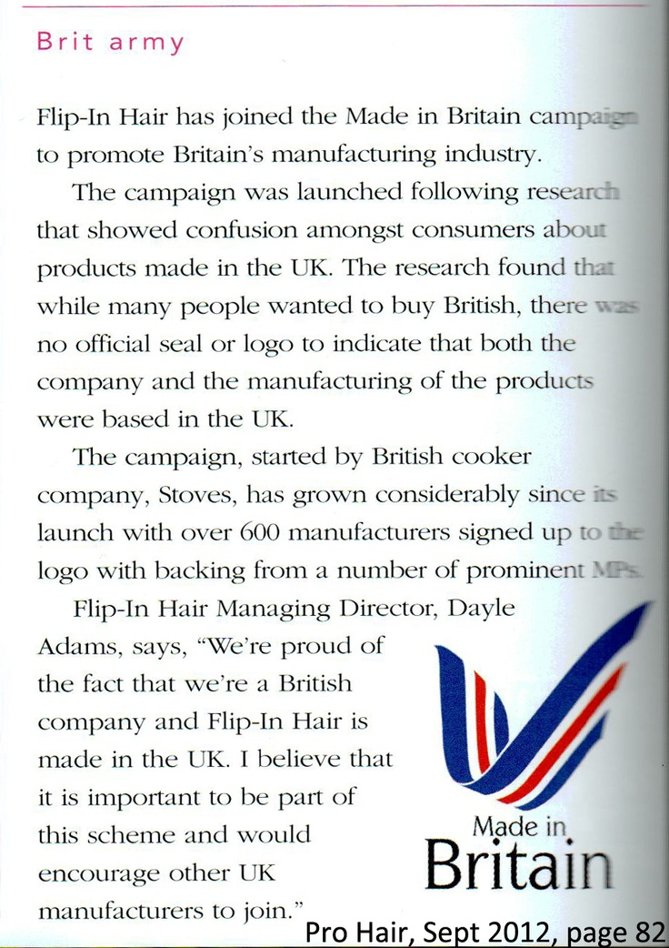 Made in Britain Campaign!