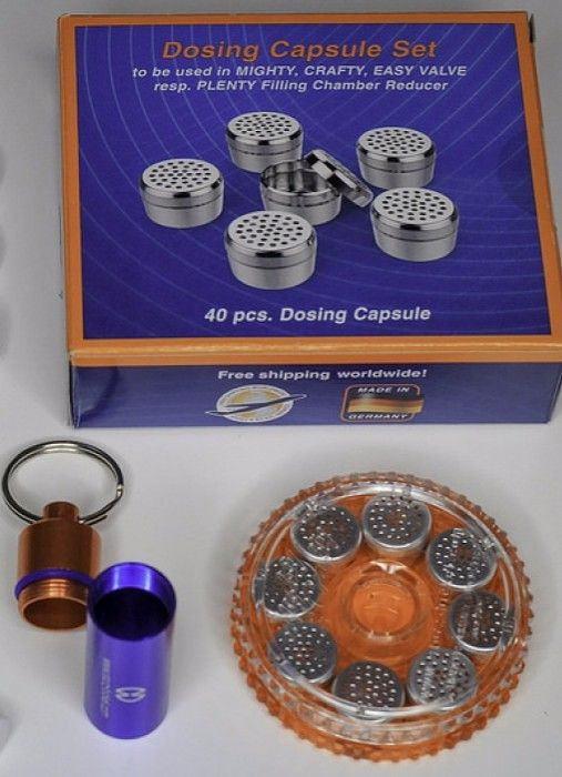 We've Got Dosing Capsules and Vaping Accessories for Volcano Vaporizers, Contact Us NOW