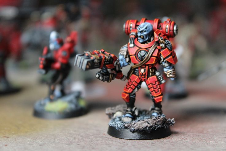 Red Tau from the huge army we did lately :)
