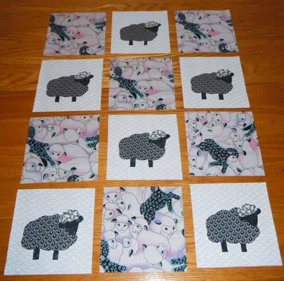 102 best Quilts - Sheep images on Pinterest | Sheep, Felt crafts ... : sheep quilt pattern - Adamdwight.com
