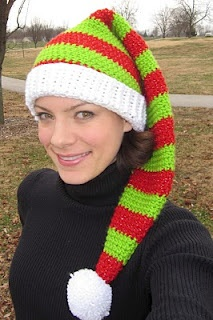 Free Crochet PatternCONVIVIAL CRAFTER: Silly Simple Elf Hat