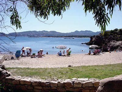 Sardinia maddalena 6 pers wow dit kom je niet vaak tegen in europa een huis op het strand - Houten strand zwembad ...
