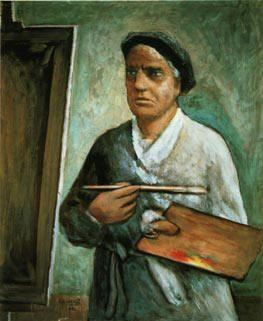 Carlo Carrà - Autoritratto