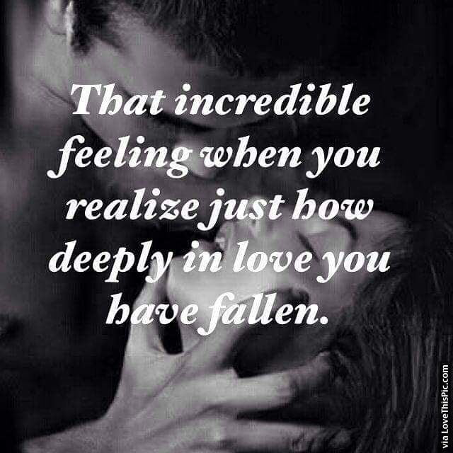 The Incredible Feeling When You Realize You're Falling In Love Pictures, Photos, and Images for Facebook, Tumblr, Pinterest, and Twitter