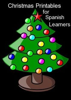 Printable Spanish #Christmas Activities: #Spanish Gift Tags, Spanish Word Search, Spanish Coloring Pages, Spanish Vocabulary Activities. #printables http://spanishplayground.net/printable-spanish-christmas-activities-gift-tags-word-search-coloring-pages-vocabulary-exercises/