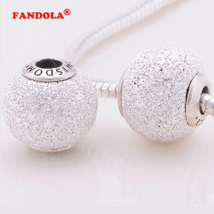 Wisdom Beads with White Cubic Zirconia Fits Pandora Essence Bracelets 925 Sterling Silver Jewelry Charms Free Shipping