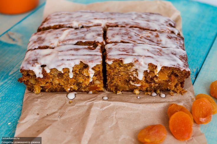 Морковный пирог в мультиварка