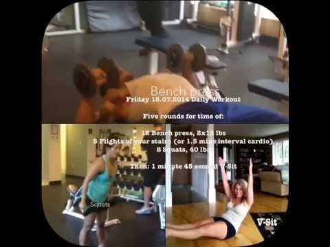 Friday 18.07.2014 Daily Workout