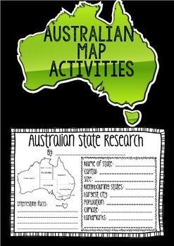 Australia Mapping Activity