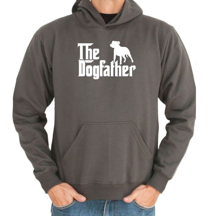The Dogfather Staffordshire Bull Terrier Hoodie by Teeburon on Etsy https://www.etsy.com/listing/236527618/the-dogfather-staffordshire-bull-terrier