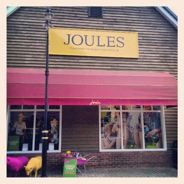 Joules outlet store in Bicester - April 2013