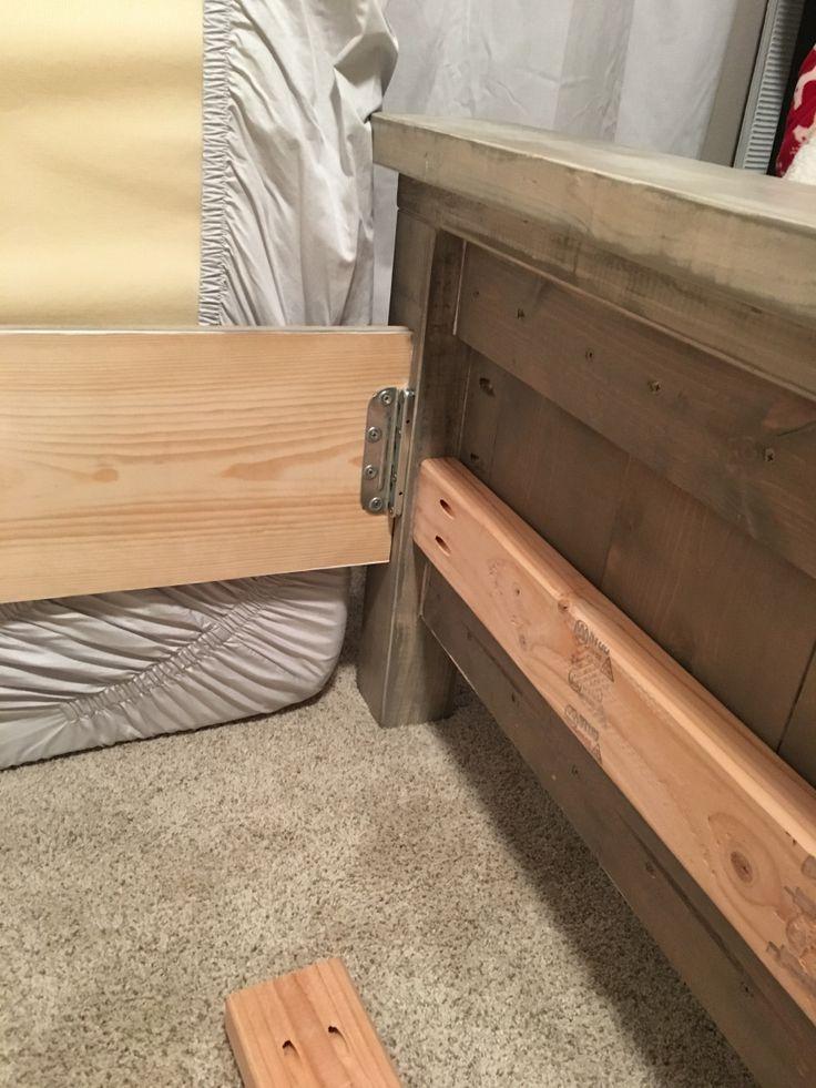 Best 25 king size platform bed ideas on pinterest king for Farmhouse bed plans full size