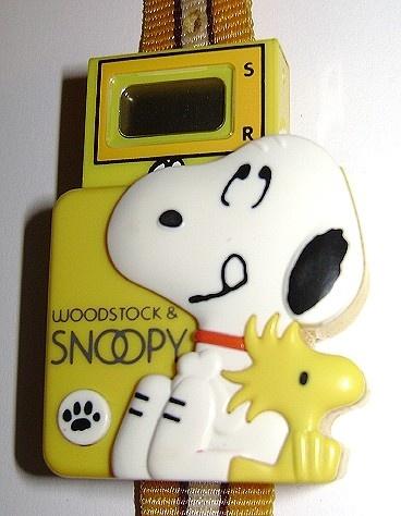 SNOOPY & WOODSTOCK~vintage Snoopy watch