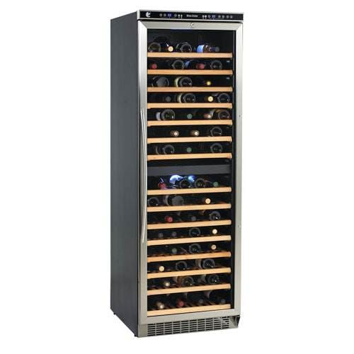 "Avanti 149 Bottle 24"" Freestanding Dual Zone Wine Cooler Video Image"