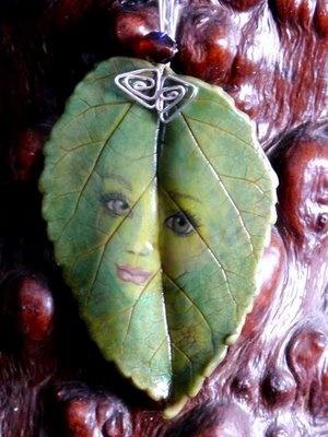 I love her work - Polymer Clay Chameleon