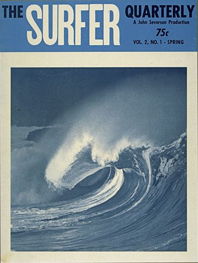surfer mag cover 1961
