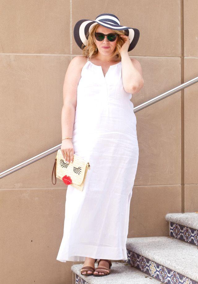 Favorite Wears: Long White Maxi Dress