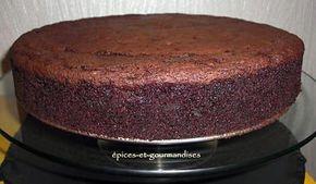 recette Gateau au chocolat d'anniversaire !