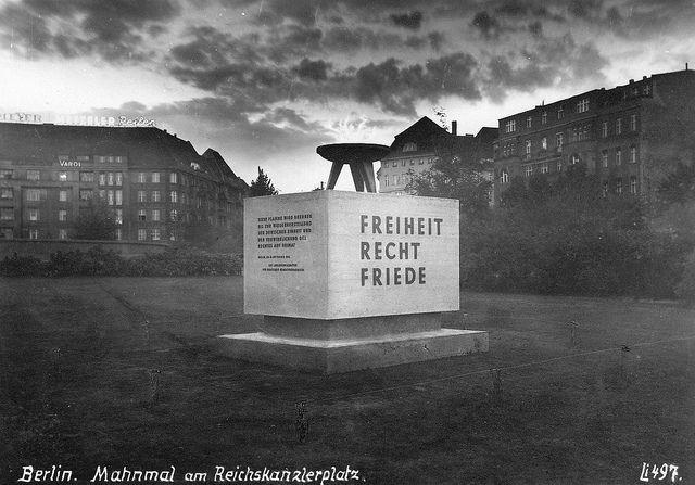 Berlin-Westend, Reichskanzlerplatz, 1956