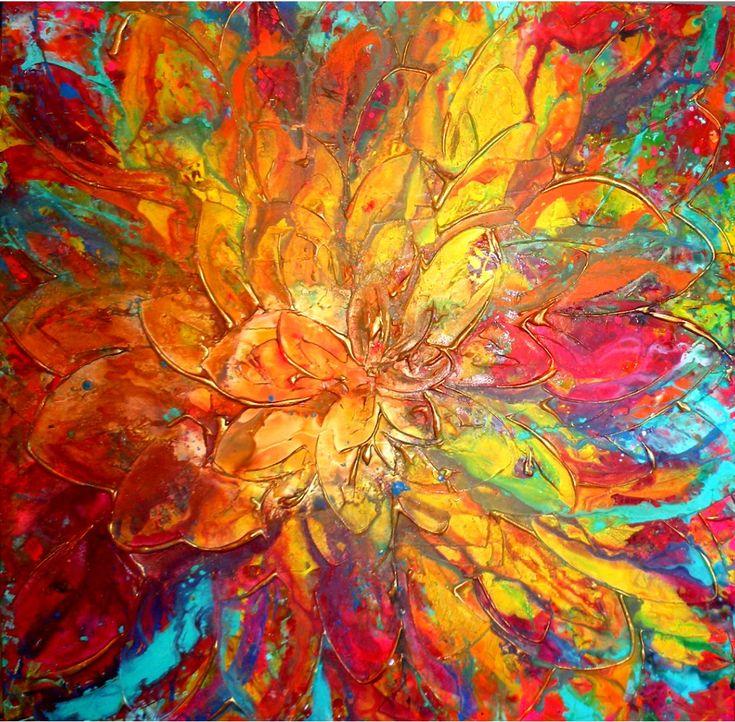 Abstract Artist: Caroline Ashwood Medium: Acrylic Website: www.carolineashwood.co.uk Facebook Page: https://www.facebook.com/carolineashwoodart Through my work,...