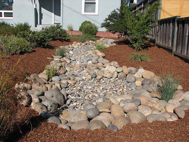 Dry Creek Bed Erosion Control