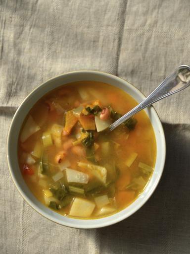Recette Potage de légumes, notre recette Potage de légumes - aufeminin.com