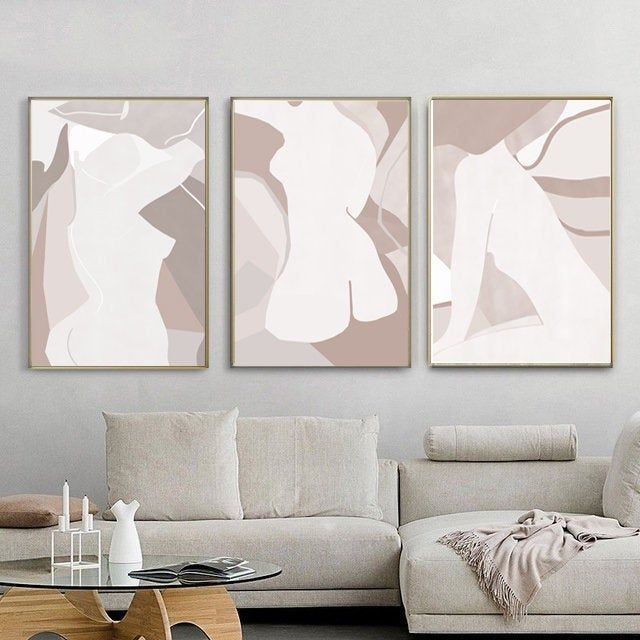 10 Best Neutral Wall Art For Living Room