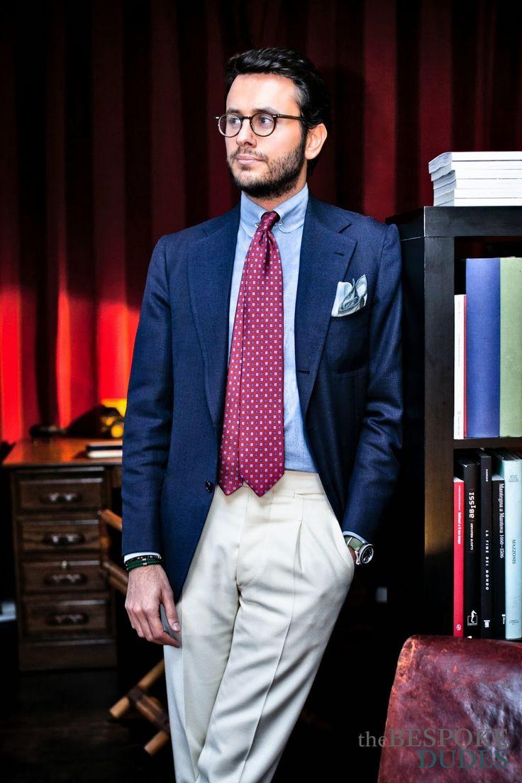 デキる男のネクタイの選び方「色柄以上に長さが大切な理由とは ... 標準 ...