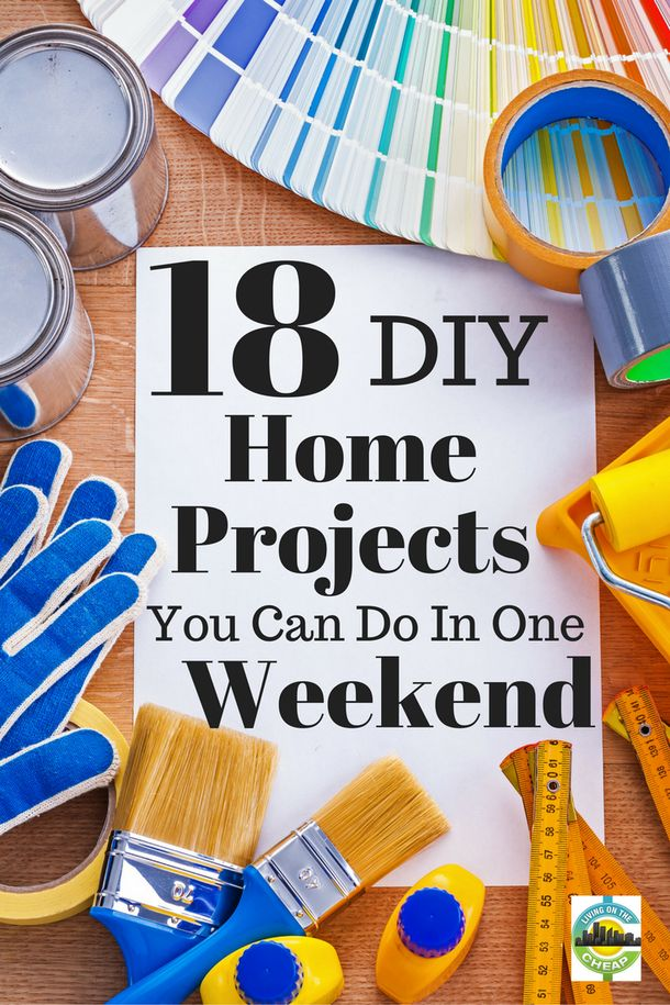 18 cheap and easy d i y home improvement projects home for Cheap and easy home improvements