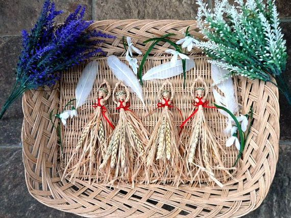 Make Your Own Brigid / Brighid Corn Dolly by PositivelyPagan