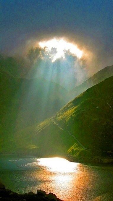 Heavenly light!