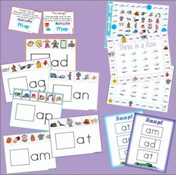 Word families / short vowel sounds are reinforced in this word family unit. $6