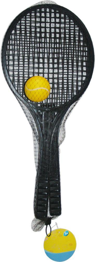 Теннисные ракетки с мячом