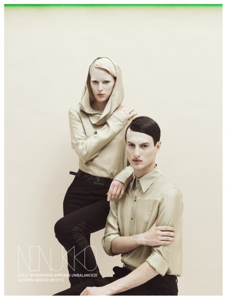 Nenukko, D.A.U. collection, AW 2012/2013  http://nenukko.com/shop/