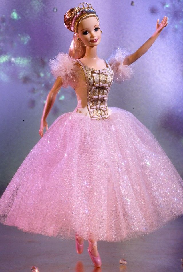 Barbie® Doll as the Sugar Plum Fairy | Barbie Collector. Jenny Lens: I just put this dress in a box as I sort my Barbie and doll clothes. It's lovely!
