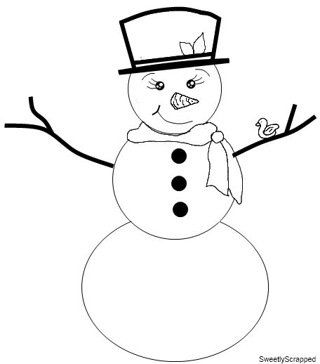 Best Drawings  Snowmen Images On   Drawings Snow
