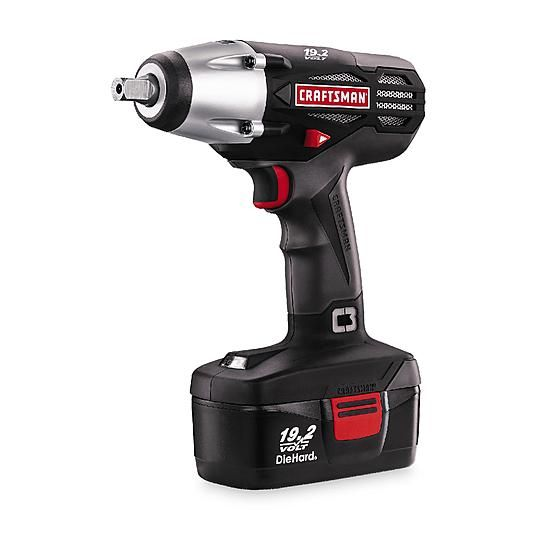 "#sears Craftsman C3 19.2-Volt Cordless 1/2"" Wrench Kit - $89.99 (save 36%) #sears #dailydeals #tools"