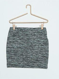 Vestidos, faldas - Falda de tubo de punto elástico - Kiabi