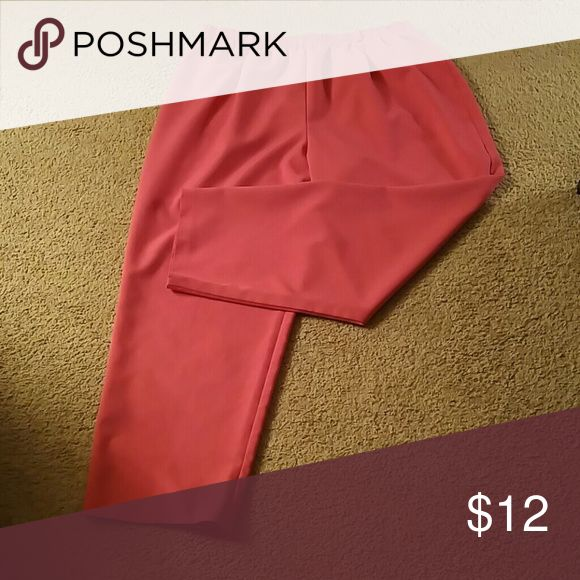 👖Blair Bend Over Pants 3X Pink bend over pants are wash and wear no wrinkles.......two front pockets....elastic waste....100% polyester.......3X ...........smoke free.....pet free home. Blair Pants Trousers