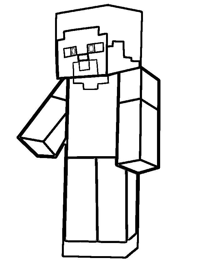 Dibujos De Minecraft Para Colorear Minecraft Dibujos Regalos De Minecraft Paginas Para Colorear