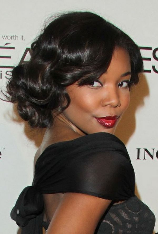 Miraculous 1000 Images About For African American Hair On Pinterest Updo Short Hairstyles For Black Women Fulllsitofus