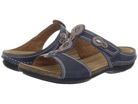 Clarks Un.Surf Blue Leather
