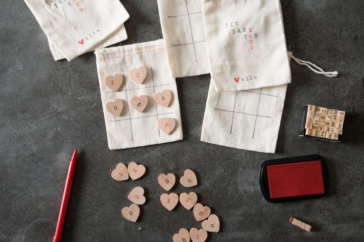 DIY Valentine | Tic-Tac-Toe Board