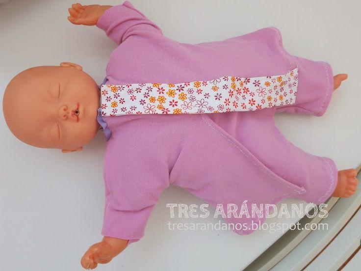 Ropa para muñecas rapida de coser