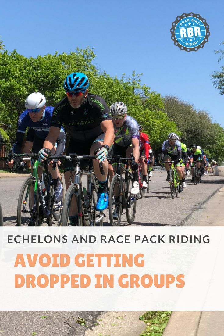 Echelons And Racing In A Pack How To Avoid Getting Dropped With