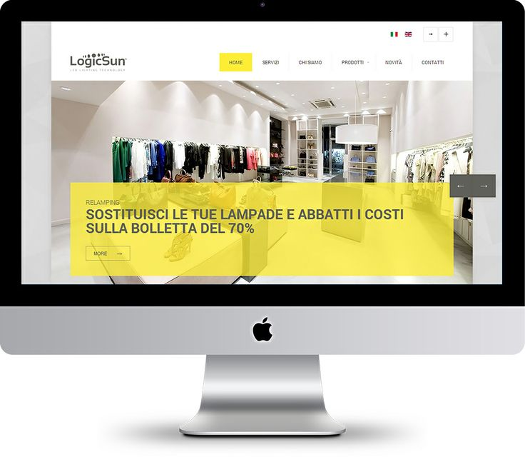 #LogicSun #LED renews itself and presents the new website with fresh and engaging but at the same time simple and perceptive grafic , that make it easily available to everyone!