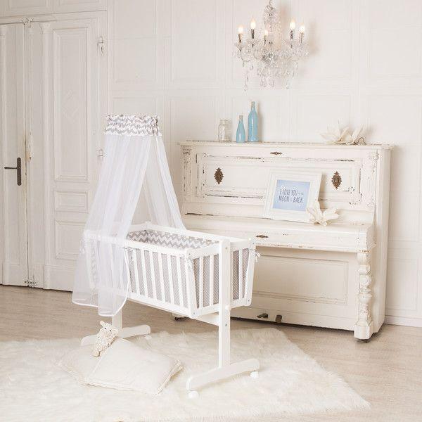 Wickelaufsätze - Puckdaddy Baby-Wiege 90x40cm, auch als Kinderbett - ein Designerstück von PuckDaddy bei DaWanda