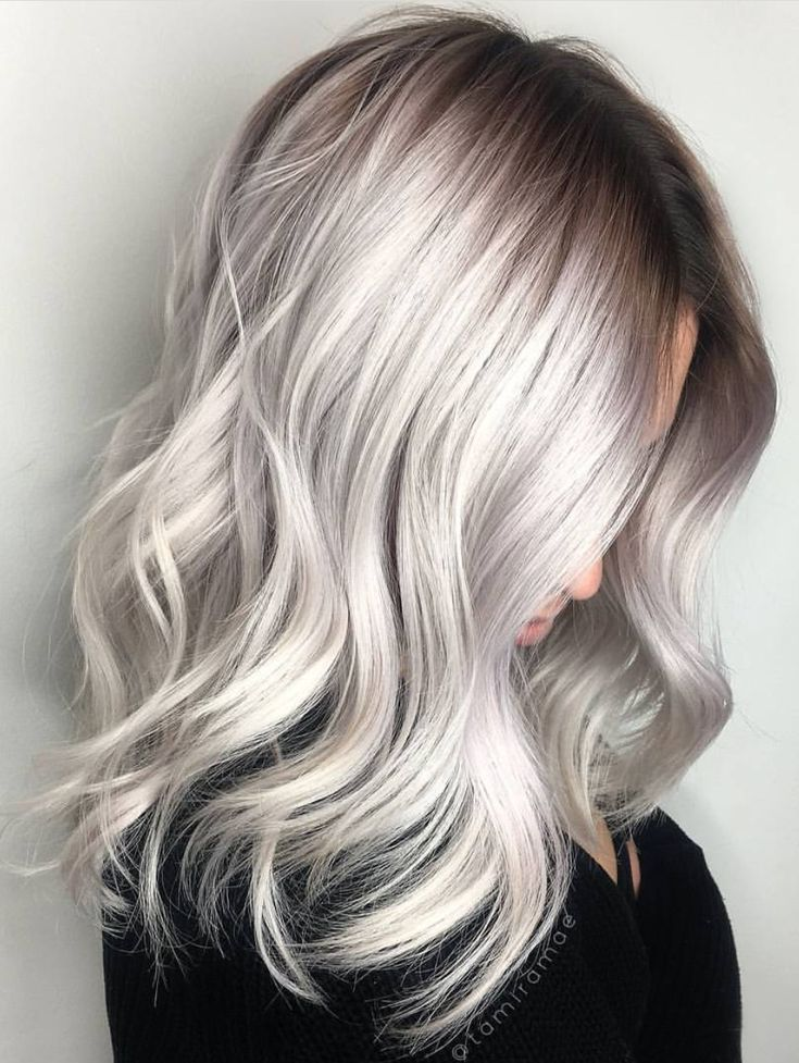 Pinterest Deborahpraha Silver Grey Hair Color