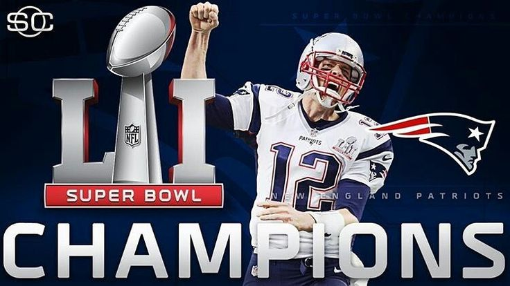 Final score... in OVERTIME: New England Patriots - 34 Atlanta Falcons - 28 (Talk about one HELL of a mother@$#*ing comeback!!!)